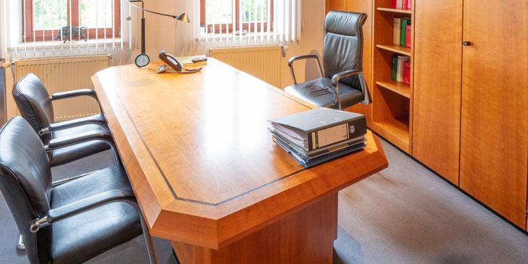 Büro von Rechtsanwalt Wadenspanner in Altdorf